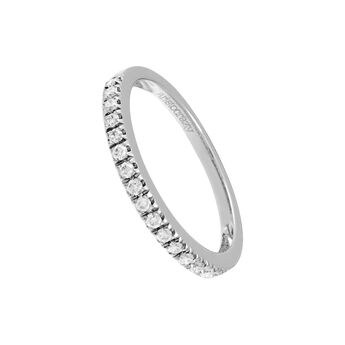 White gold ring diamonds prong , J00169-01-21, hi-res
