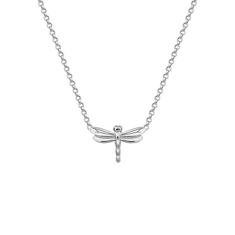 Colgante libélula plata, J03183-01, hi-res