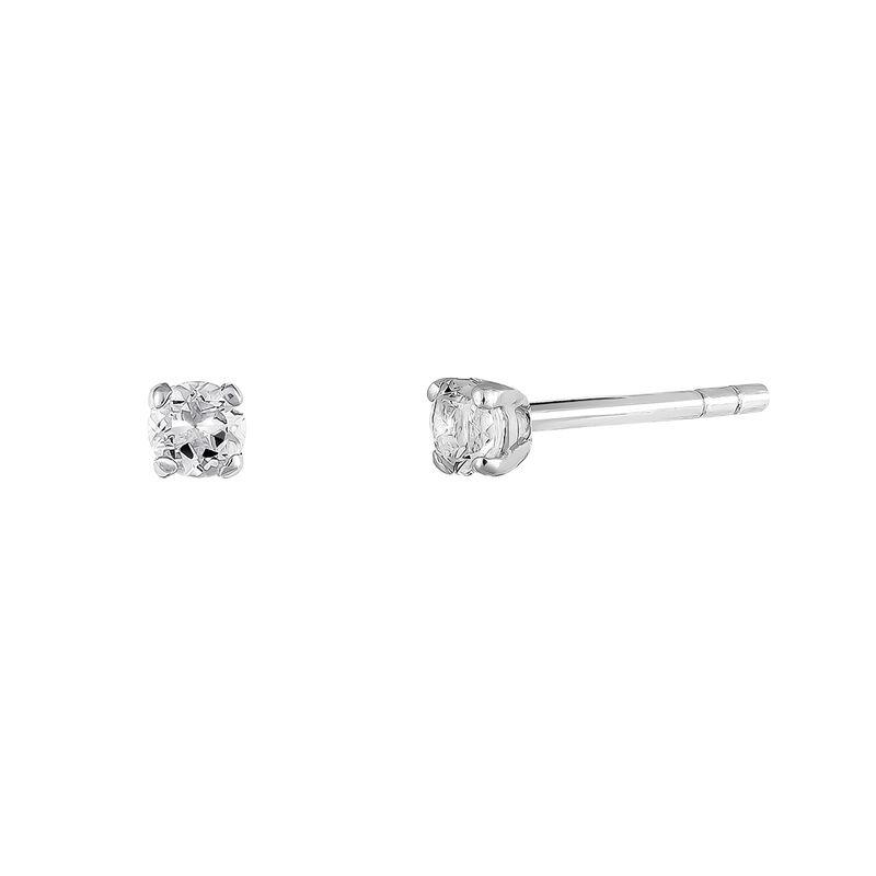 Pendientes garra topacio plata, J03457-01-WT, hi-res