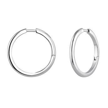 Mix & match silver hoop earrings, J04643-01, hi-res