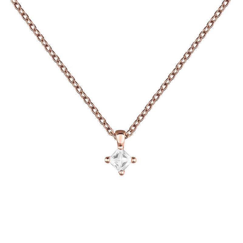 Colgante rombo topacio plata recubierta oro rosa, J03694-03-WT, hi-res