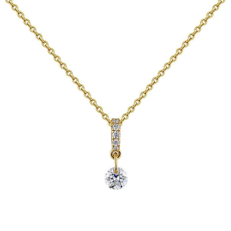 Collier diamants or, J04431-02, hi-res