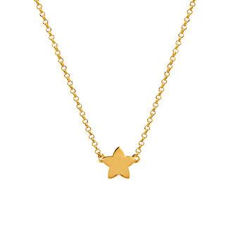 Colgante estrella oro, J01083-02, hi-res