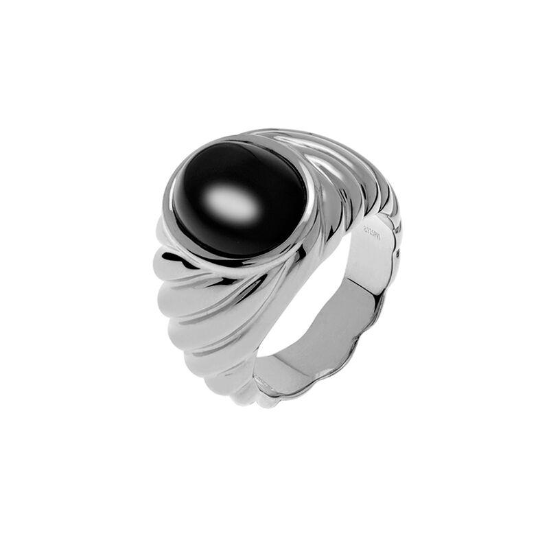 Anillo sello ónix plata, J01747-01-ON, hi-res