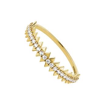 9kt gold sapphire pavé ring, J04705-02-WS, hi-res