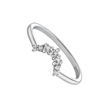 Silver topaz trim ring, J03687-01-WT, hi-res