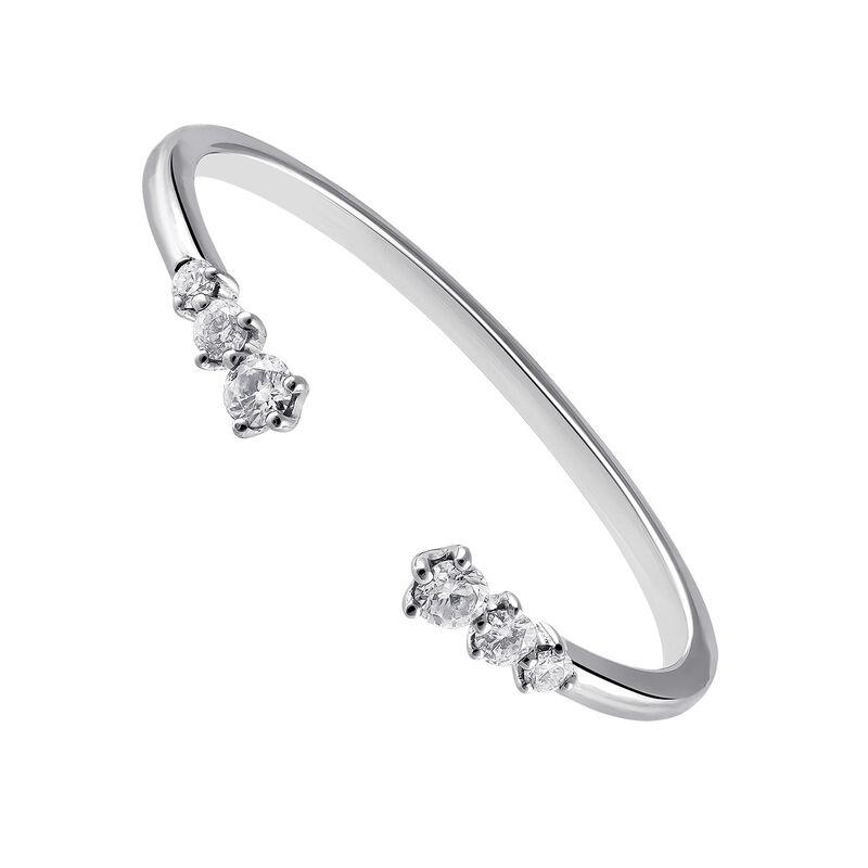 Anillo tú y yo diamantes oro blanco 0,1 ct, J03345-01, hi-res