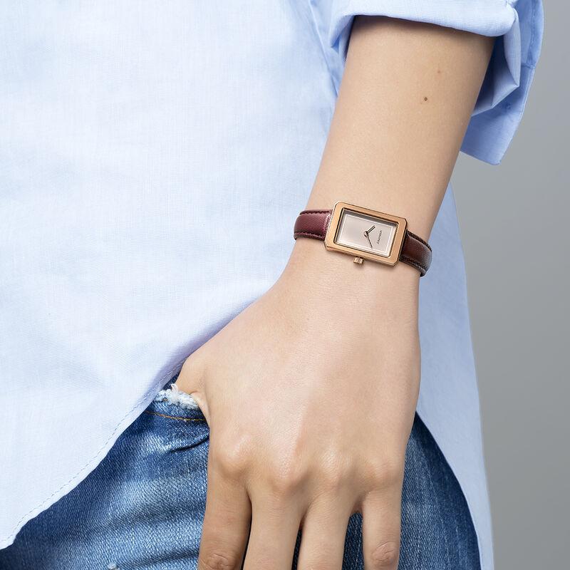Chelsea watch maroon strap, W46A-PKPKGR-LERE, hi-res
