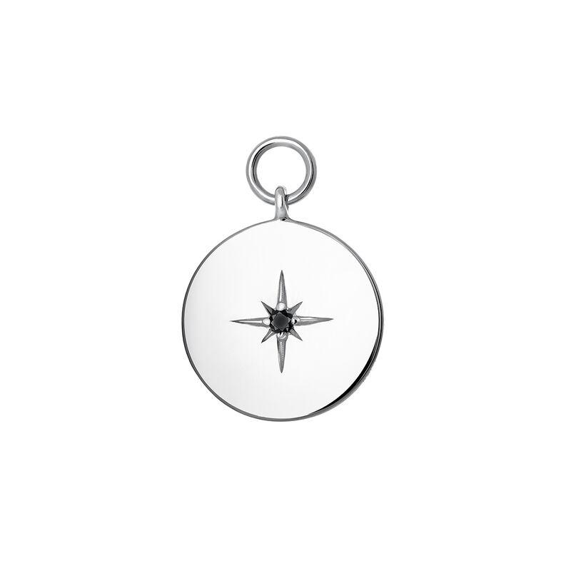 Colgante círculo espinela plata, J03776-01-BSN, hi-res