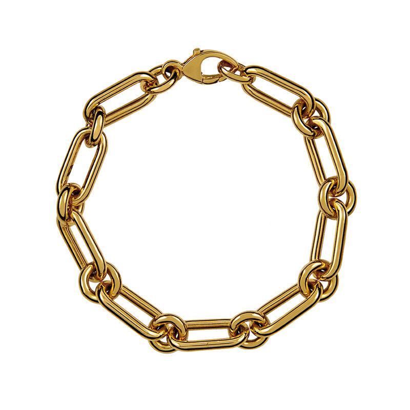 Pulsera mix eslabones oro , J00889-02, hi-res
