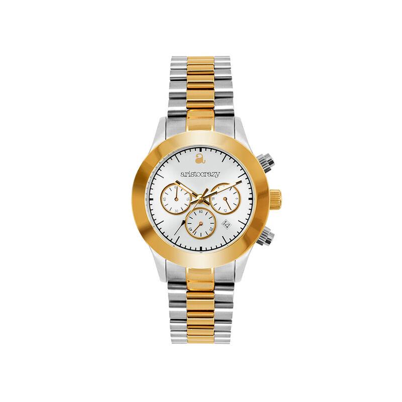 Reloj Soho armis bicolor esfera blanca , W29A-STYWWH-AXMX, hi-res