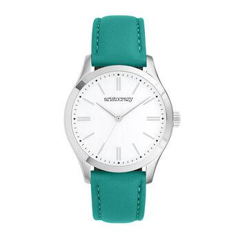 Reloj Mitte verde, W41A-STSTWH-LEGE, hi-res