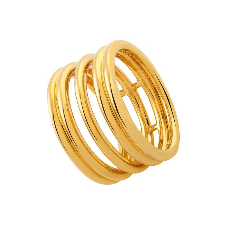 Anillo liso triple oro, J03091-02, hi-res