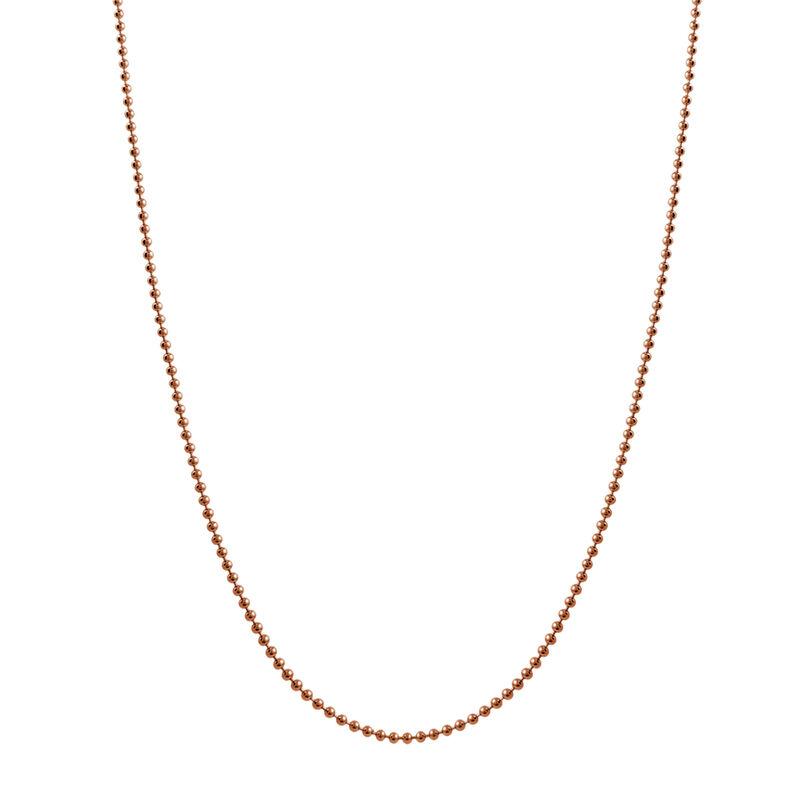 Cadena bolas larga oro rosa, J01474-03-80, hi-res