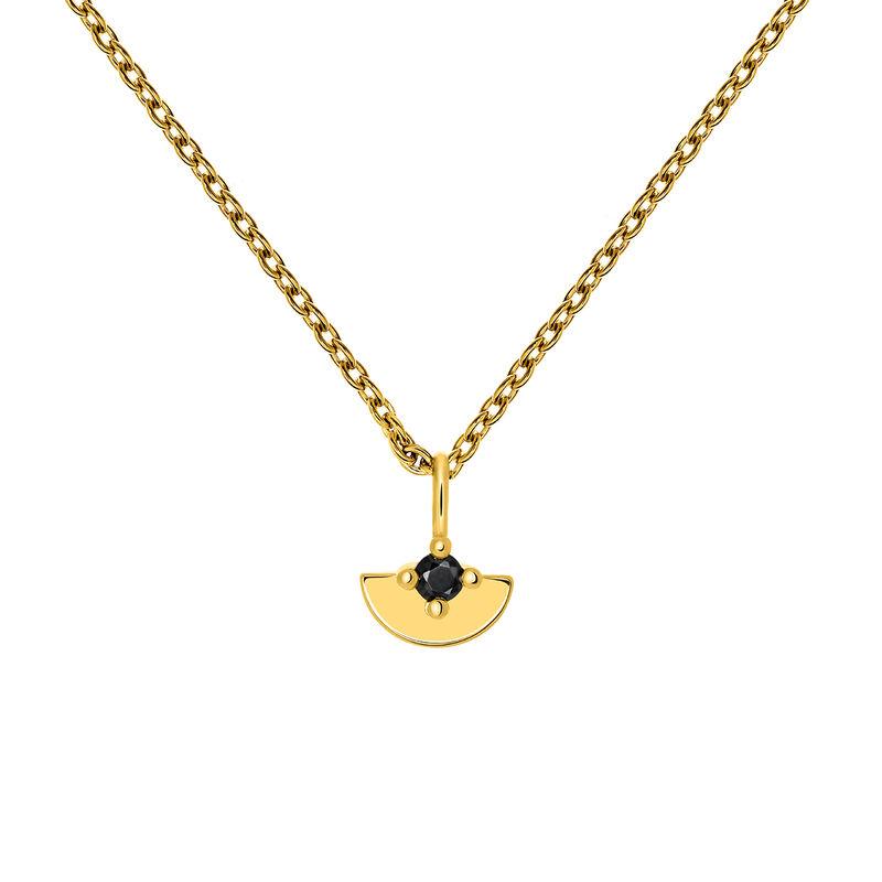 Colgante semicírculo espinela oro, J03745-02-BSN, hi-res