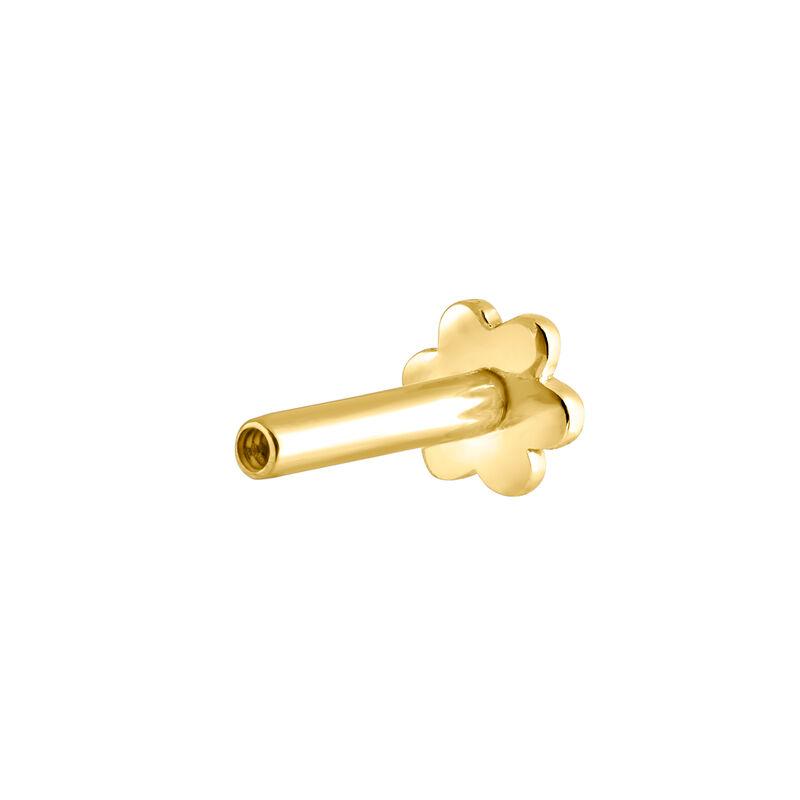 Pendiente piercing corazón oro, J03835-02-H, hi-res