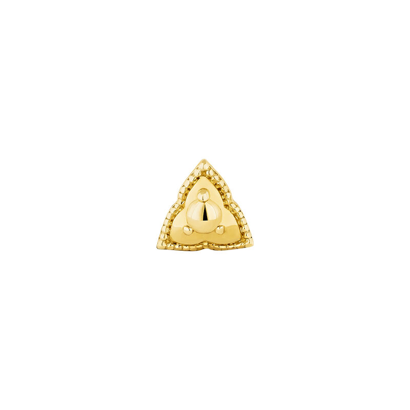 Gold triangle piercing, J04371-02-H, hi-res