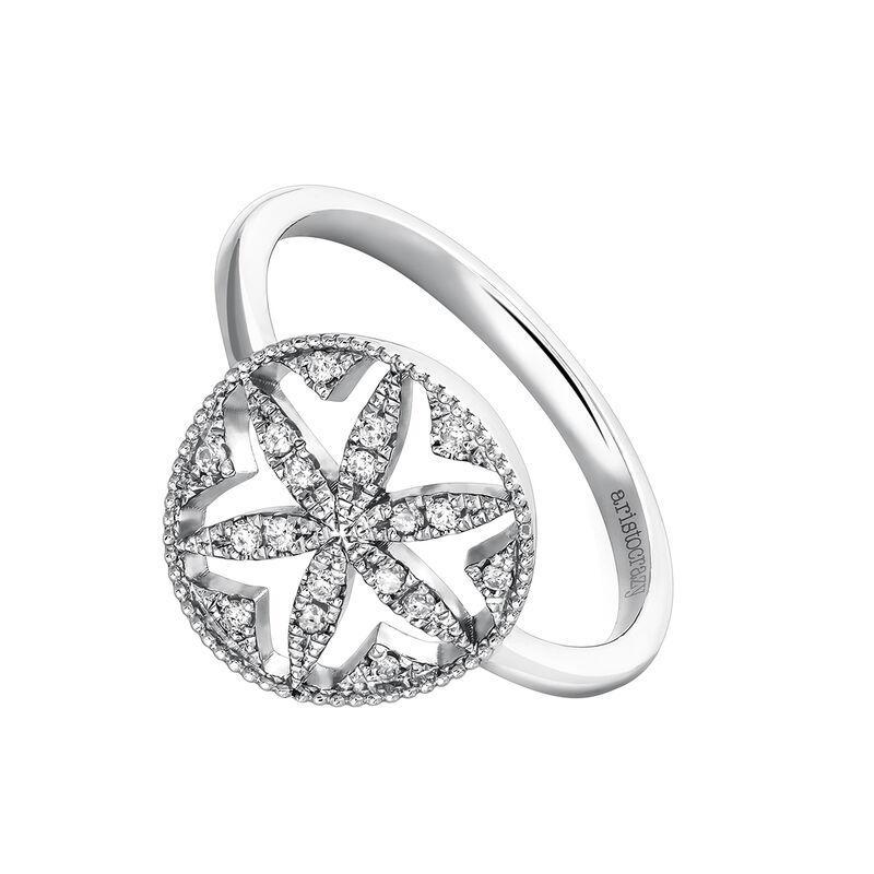 Anillo orla diamantes plata, J03708-01-GD, hi-res