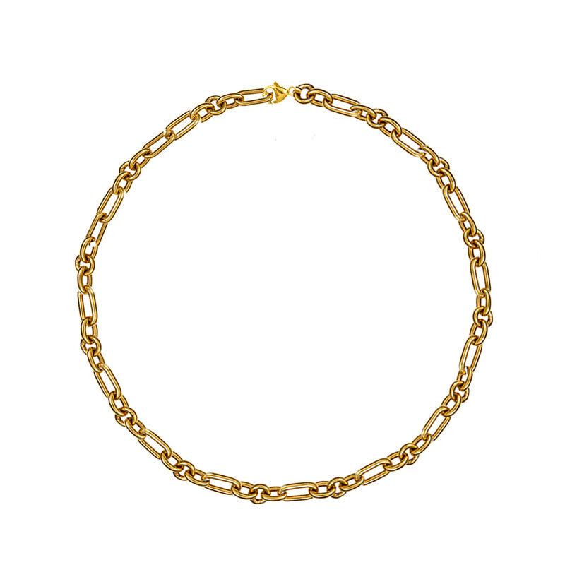 Cadena forzá mix eslabones oro, J01336-02, hi-res