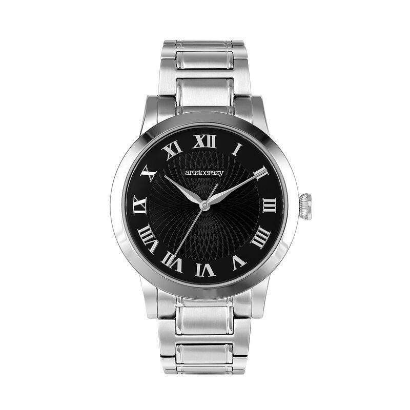 Brera watch bracelet black face. , W44A-STSTBL-AXST, hi-res