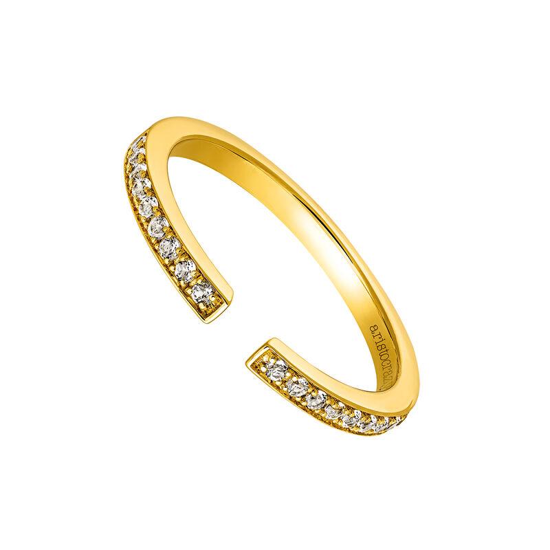 Anillo abierto pavé oro topacio, J03482-02-WT, hi-res
