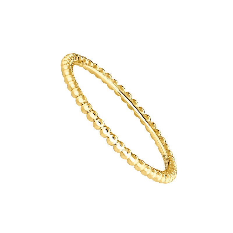 Gold ring with spheres, J03853-02, hi-res