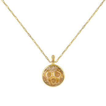 Collier grand corail or, J04126-02-FOSC-WT, hi-res