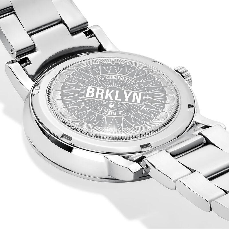 Brooklyn watch bracelet blue face, W45A-STSTBU-AXST, hi-res