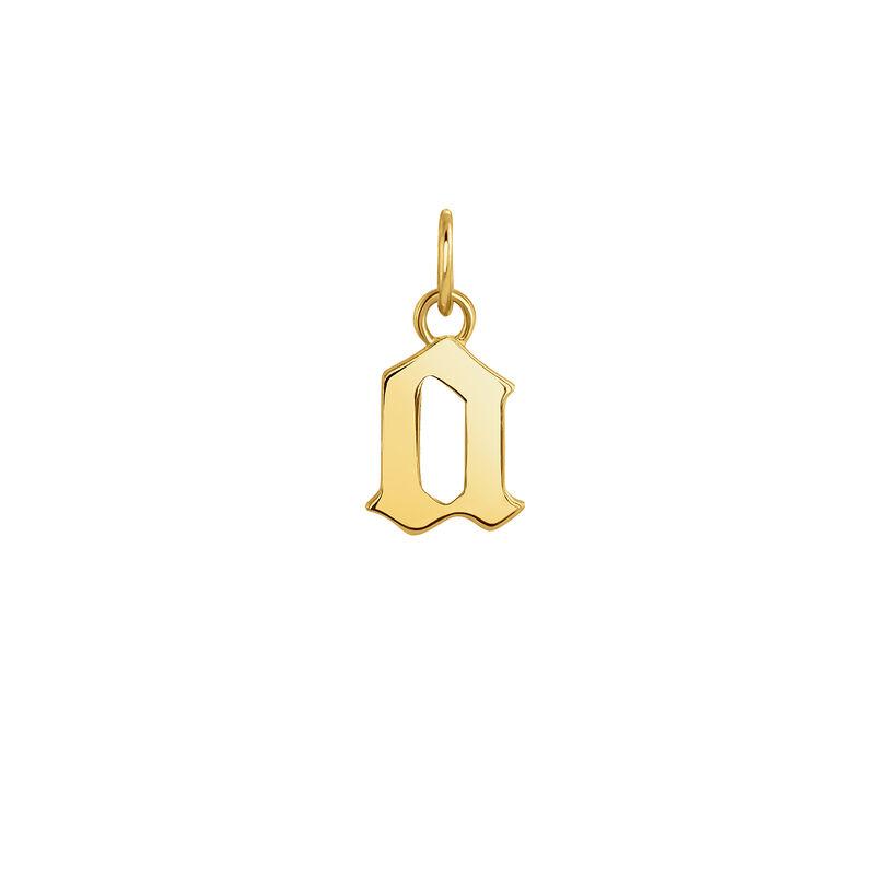 Colgante letra gótica A oro, J04016-02-A, hi-res