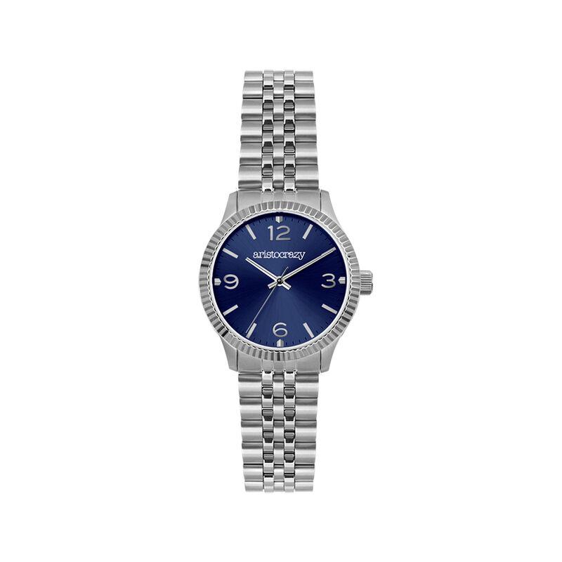 St. Barth watch bracelet blue face, W30A-STSTDB-AXST, hi-res