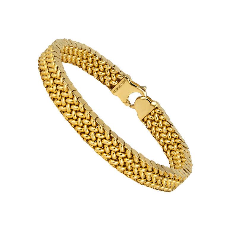 Brazalete eslabones oro, J01621-02, hi-res
