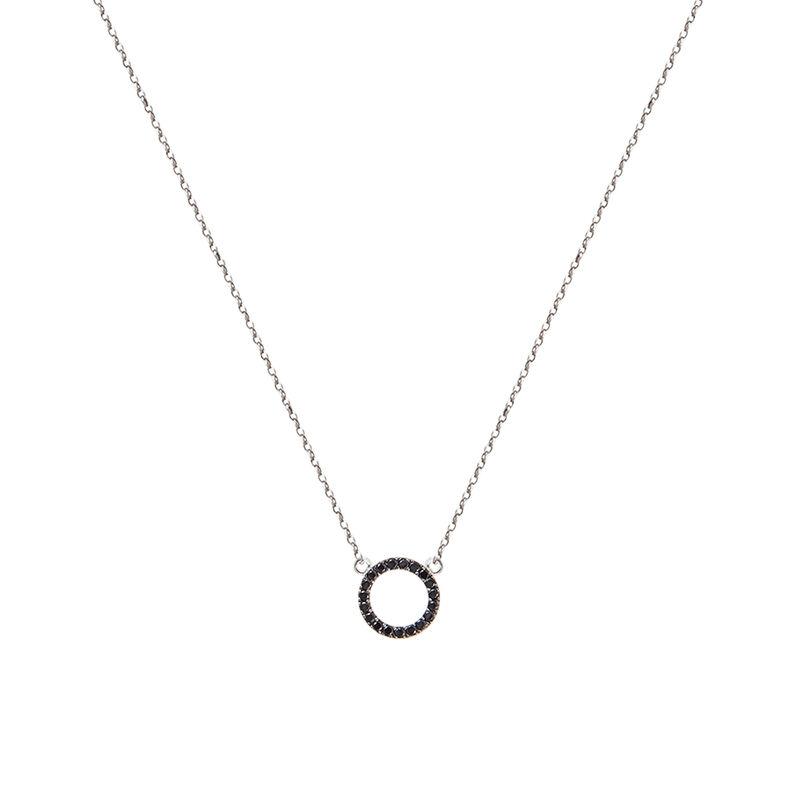 Colgante círculo espinelas plata, J01623-01-BSN, hi-res