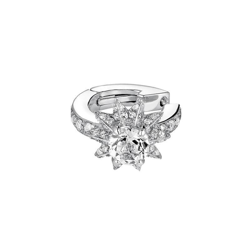 Piercing cartílago estrella plata, J03722-01-GD-WT, hi-res
