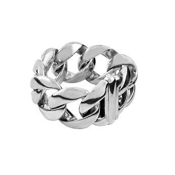 Silver large barbed bracelet, J00720-01, hi-res