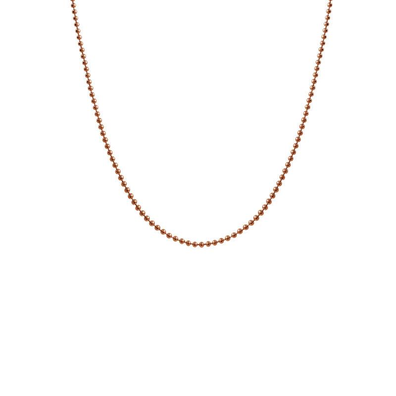 Cadena bolas corta oro rosa, J01474-03-45, hi-res