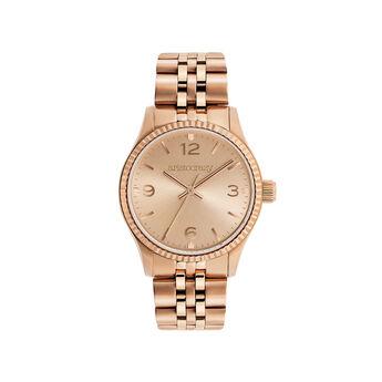 Montre St. Barth Mini bracelet en acier avec face en or rose, W30A-PKPKPK-AXPK, hi-res