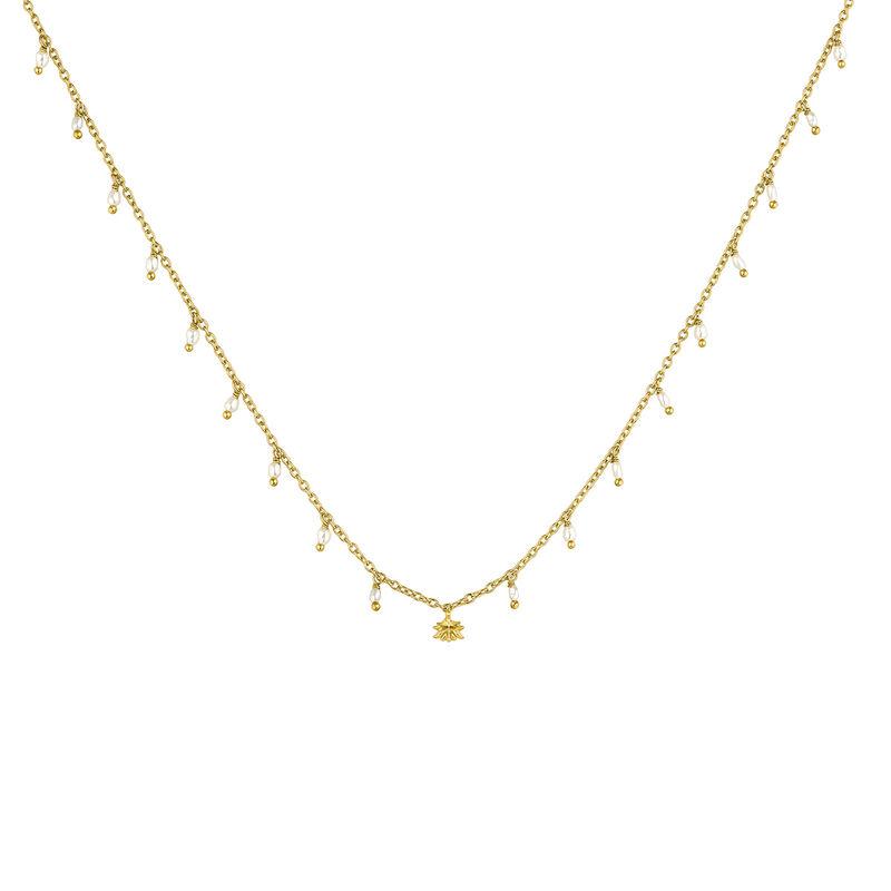 Collier perles baroques argent plaqué or, J04457-02-WP, hi-res