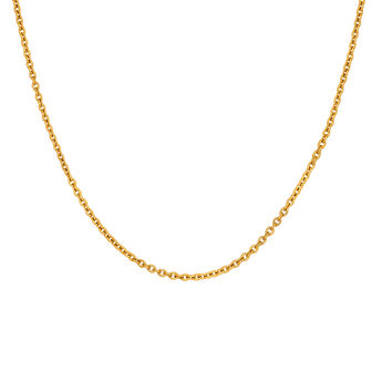 Cadena simple oro, J03434-02, hi-res