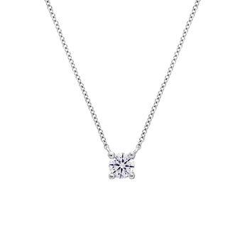Colgante diamante 0,10 oro blanco, J01957-01-10-GVS, hi-res