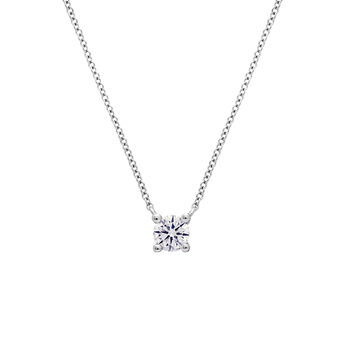Collier diamant 0,10 ct or blanc, J01957-01-10-GVS, hi-res