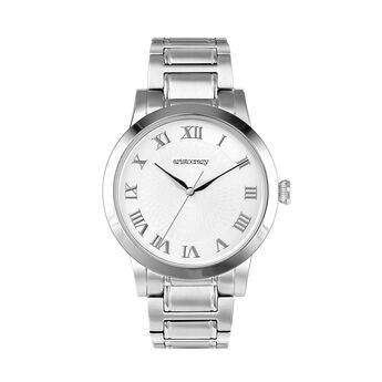 Brera watch bracelet white face. , W44A-STSTWH-AXST, hi-res