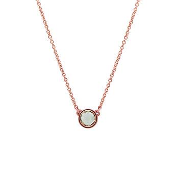 Colgante chatón plata recubierta oro rosa, J00966-03-GQ, hi-res