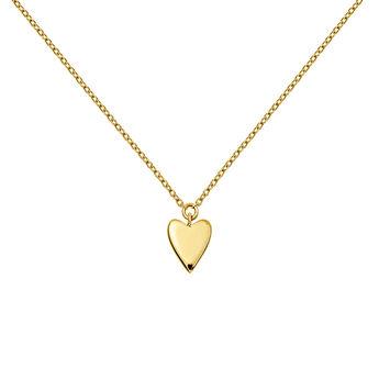 Colgante corazón oro 9 kt, J03864-02, hi-res