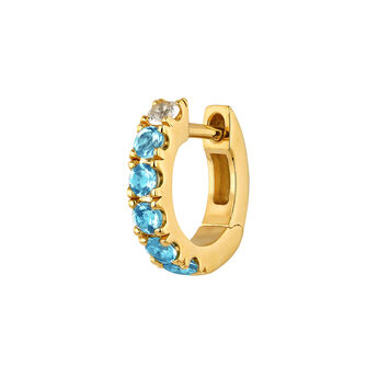 Pendiente zafiros plata recubierta oro, J04838-02-WS-SB-H, hi-res
