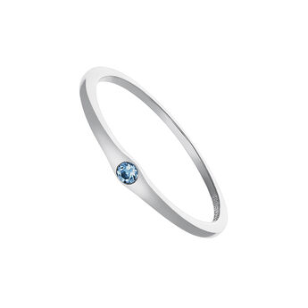 Silver topaz ring, J03683-01-LB, hi-res