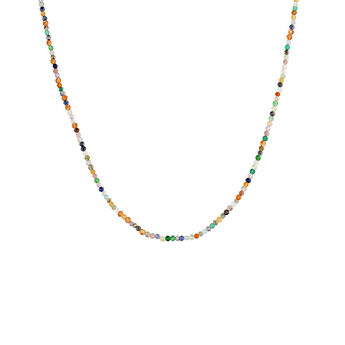 Collar multipiedra plata recubierta oro, J04877-02-MULTI, hi-res