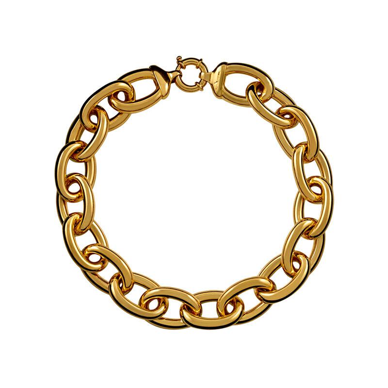 Collar oval eslabón grande oro, J00737-02, hi-res