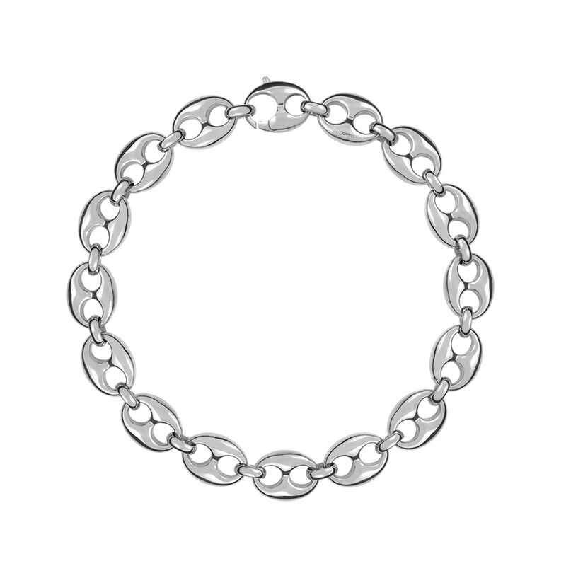 Silver calabrote necklace, J01341-01, hi-res