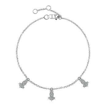 Bracelet motifs diamants or blanc, J03393-01, hi-res