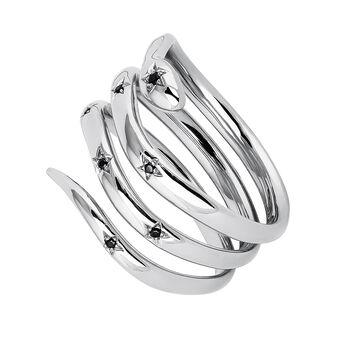 Anillo serpiente espinelas plata, J04196-01-BSN, hi-res